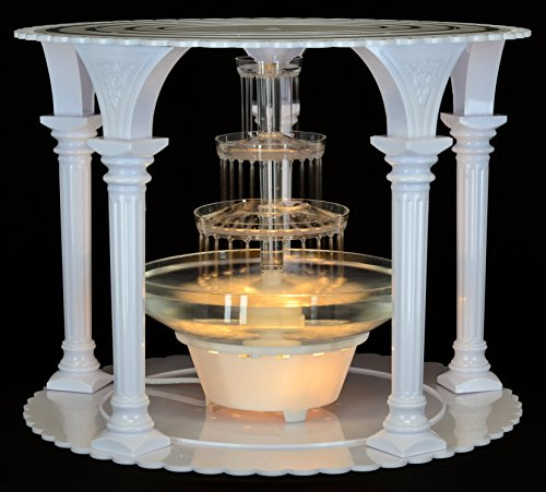 water fountain wedding cake stand top 10 best wedding cake stands with lights best of 2018 21679
