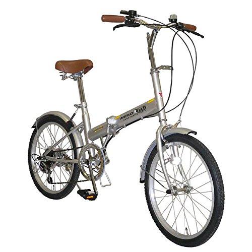 20インチ 6段変速付 折りたたみ 自転車 AHB206CPFD 20型 B077Y987TH