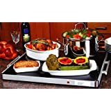 """Deluxe Shabbat Warming Tray Full Size 24"""" x 20"""" Blech Electric"""