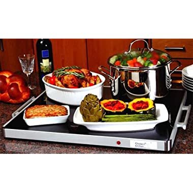 Deluxe Shabbat Warming Tray Full Size 24  x 20  Blech Electric