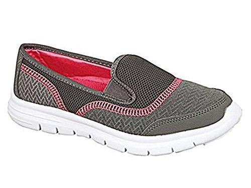 RTB - Zapatillas para mujer Grey / Pink