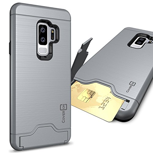 CoverON Galaxy S9 Plus Case with Card Holder,  Protective Ha