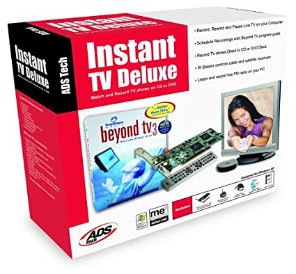 Driver UPDATE: ADS Tech Instant TV Deluxe PCI IR Blaster