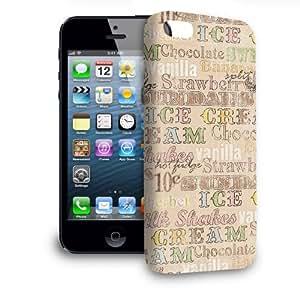 Phone Case For Apple iPhone 5 - 50s Soda Shop Icecream Slim Cover