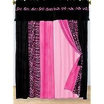 Hot Pink Zebra Set