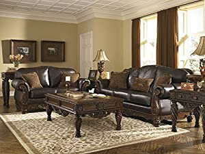 Amazon Com North Shore Living Room Set By Ashley