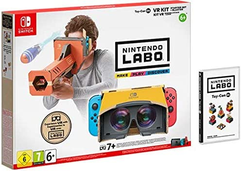 SWITCH Nintendo LABO: Kit de VR (set básico con desintegrador ...