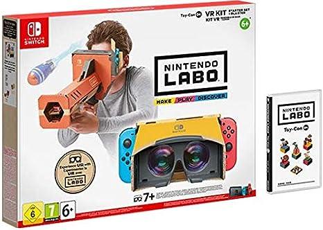 SWITCH Nintendo LABO: Kit de VR (set básico con desintegrador)
