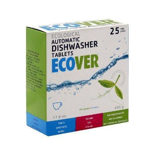 Ecover Ecological Dishwasher Tablets 17.6 oz (25 tablets) Case of 12