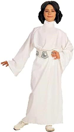 8eighteen Star Wars disfraz de princesa Leia niño Halloween ...