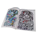 Dovewill Oriental Dragon Tattoo Flash & Outline Manuscripts Sketch Book A4 60Pages