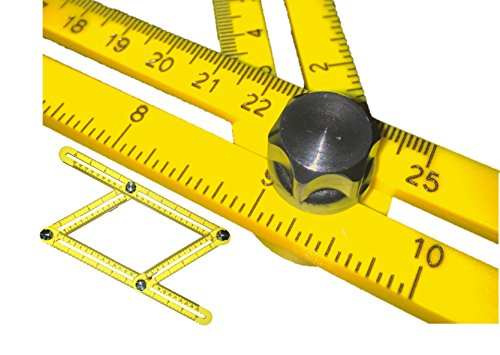 SIZEors Measurement Template Tool By QuantiFleet: Angle Ruler For ...