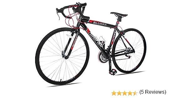 Merax 21-Speed 700 C bicicleta de carretera de Carreras de ...