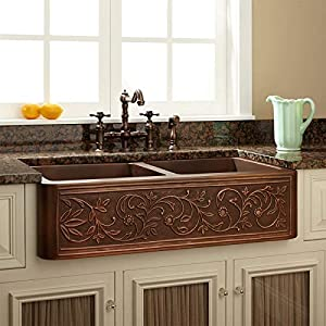 5184aseFu5L._SS300_ 75+ Best Copper Farmhouse Sinks For 2020