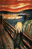 The Scream, c.1893 Poster Print by Edvard Munch, 24x36 Poster Print by Edvard Munch, 24x36
