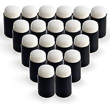GooMart 20 Finger Sponge Daubers Set for Painting Drawing Ink Crafts Chalk