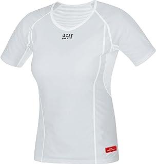 GORE WEAR, Donna, Maglia Intima Antivento a Maniche Corte, Gore M Women Windstopper Base Layer Shirt, 100021