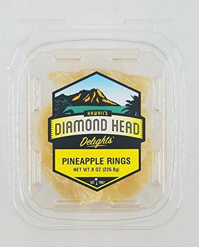Dried Pineapple Wedges 8 oz.