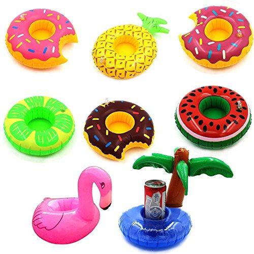 Vayne Inflatable Coasters Watermelon Pineapple