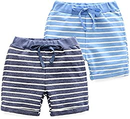 Baby Boys Summer Shorts 2 Pack
