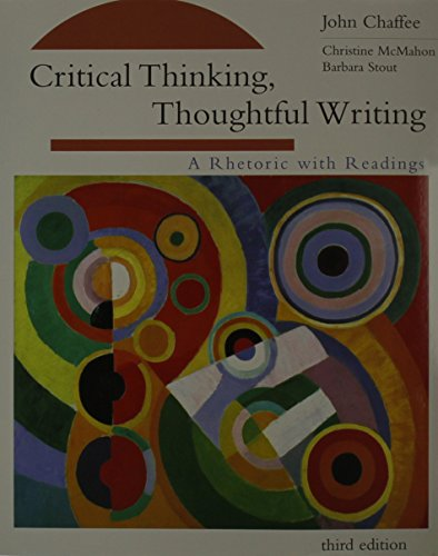 Critical Thinking 3rd Edition Plus Raimes Pocket Keys For Writers 2nd Edition Plus Smarthinking