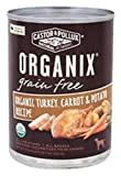 Organix, Grain Free Organic Turkey, Carrot & Potato Canned Dog Food, 12.7 oz