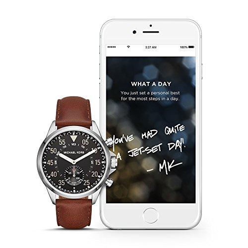 (Michael Kors Access Hybrid Brown Gage Smartwatch MKT4001)