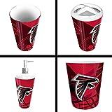 The Northwest Company Atlanta Falcons NFL 4 Piece Bathroom Decorative Set (Scatter Series)