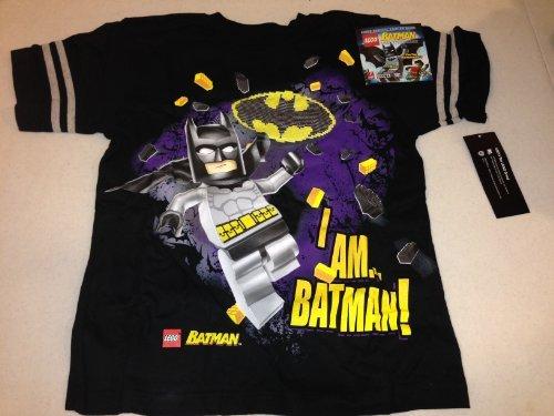 LEGO BATMAN T-SHIRT & GAMER GUIDE BUNDLE