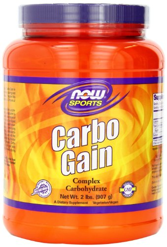 NOW Sports Carbo Gain 2 pound