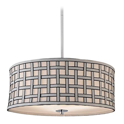 Criss Cross Pendant Light - 7
