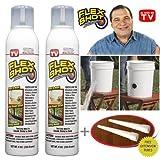 FLEX SHOT White - As Seen On TV - 2 pack JUMBO can + 2 extension tubes