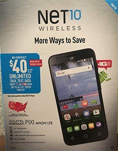 Alcatel A571VL OneTouch PIXI Avion 4G LTE Prepaid Smartphone by Alcatel