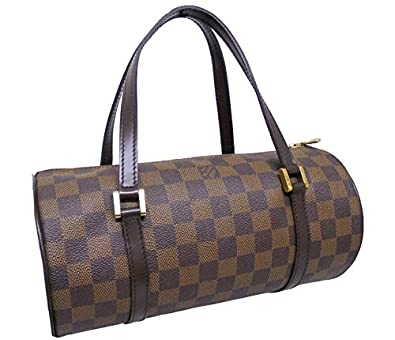 a10471a131c5 LOUIS VUITTON ルイヴィトン パピヨンPM ハンドバッグ ダミエ エベヌ N51304 【中古】