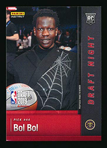 2019 Panini Instant Draft Night BOL BOL First Rookie Card RC #DN-BB Denver Nuggets 1 of ONLY 181 Produced Comes in a sealed top loader from Instant