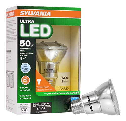 Sylvania 50 Watt Led Indoor/Outdoor Flood Light Bulb