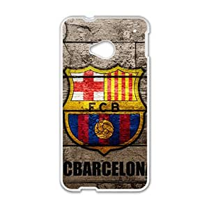 Happy FCB Logo Fashion Comstom Plastic case cover For HTC One M7
