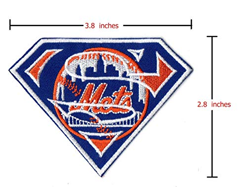 New York Mets Super Jersey Patch Citi Field Brooklyn Iron On Sew Hoodie Jacket
