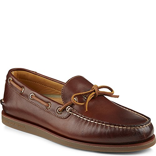 Sperry Top-Sider Men's Gold A/O 1-Eye Wedge Tan/Gum Boat Shoe 10 M (D) ()