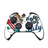 Happy 4th of July Quote Cute Girl on Firework American Flag Image Design Pattern Xbox One Controller Vinyl Decal Sticker Skin by Trendy Accessories
