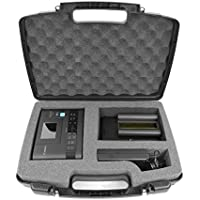 SECURE Hard Body Carrying Case With Dense Foam Made For Canon SELPHY CP1200/CP1300 Wireless Compact Portable Photo Printer, Charger Adapter, Cables, Battery, Color Ink Paper and More