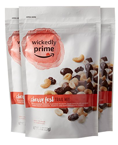 Wickedly Prime Trail Mix, Cherry Fest, 8 Ounce (Pack of 3)
