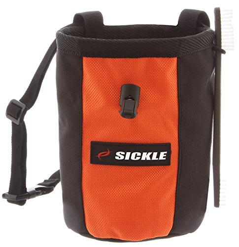 Sickle Retro Chalk Bag with FREE Belt and M 16 Climbing Brush ($9 Bonus)