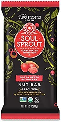 Two Moms in the Raw Soul Sprout Organic Gluten-Free Nut Bar, Gotta ...