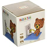 LOZ Diamond Blocks Brown Bear Peeing 9430 (350pcs)