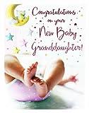 New Baby Girl Granddaughter Congratulations Greeting Card Newborn Grandparents