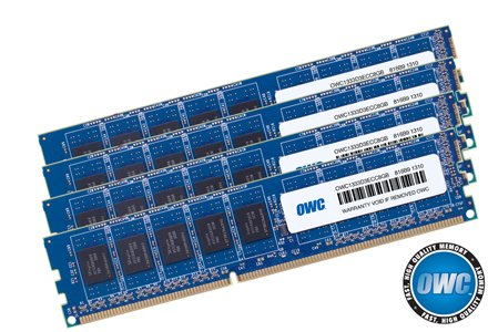 OWC 32.0GB (4x 8GB) DDR3 ECC PC10600 1333MHz SDRAM ECC For Mac Pro by OWC