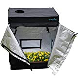 Quictent 30″x18″x36″ Hydroponic Indoor Grow Tent Reflective Mylar Non Toxic Dark Room Review