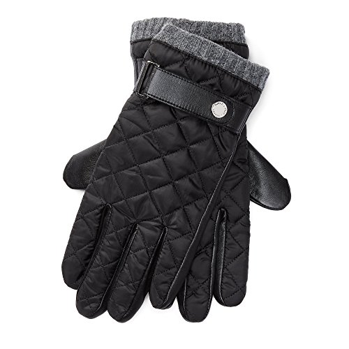 Polo Ralph Lauren Men's Quilted Gloves Thinsulate M (Ralph Lauren Polo Leather Gloves)