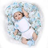 "Terabithia 21"" Touch-Activated Lifelike Silicone Reborn Baby Boy Dolls"
